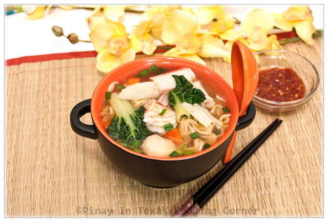 The Combination Of Noodles Seafood And Vegetables Makes This Dish A Very Delicious And Filling Meal That Is Sure To Satisfy Both Kids And Adults