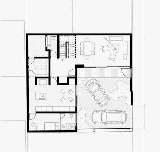 Planos de casas de arquitectos mexicanos las casas de for Planos de casas modernas de una planta