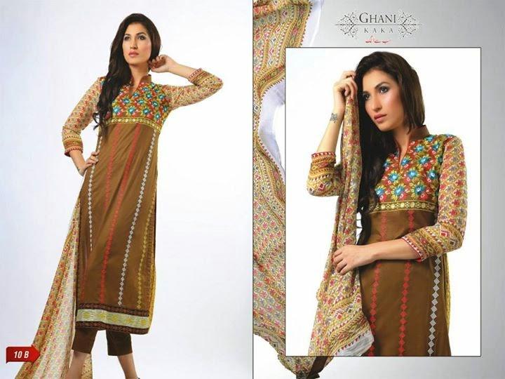Ghani Textiles Midsummer Eid Collection 2014