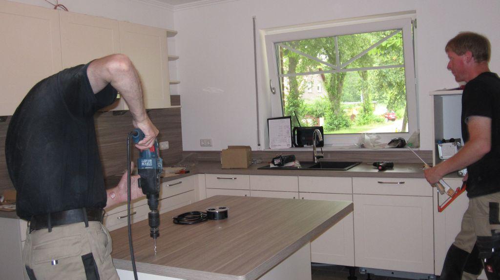 abenteuer traumhaus: die küche ist drin - Verblendsteine Küche