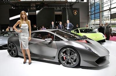 史上最貴跑車 第六元素 藍寶堅尼(Sesto Elemento)
