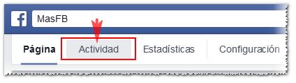 Ver publicaciones programadas en Facebook - MasFB