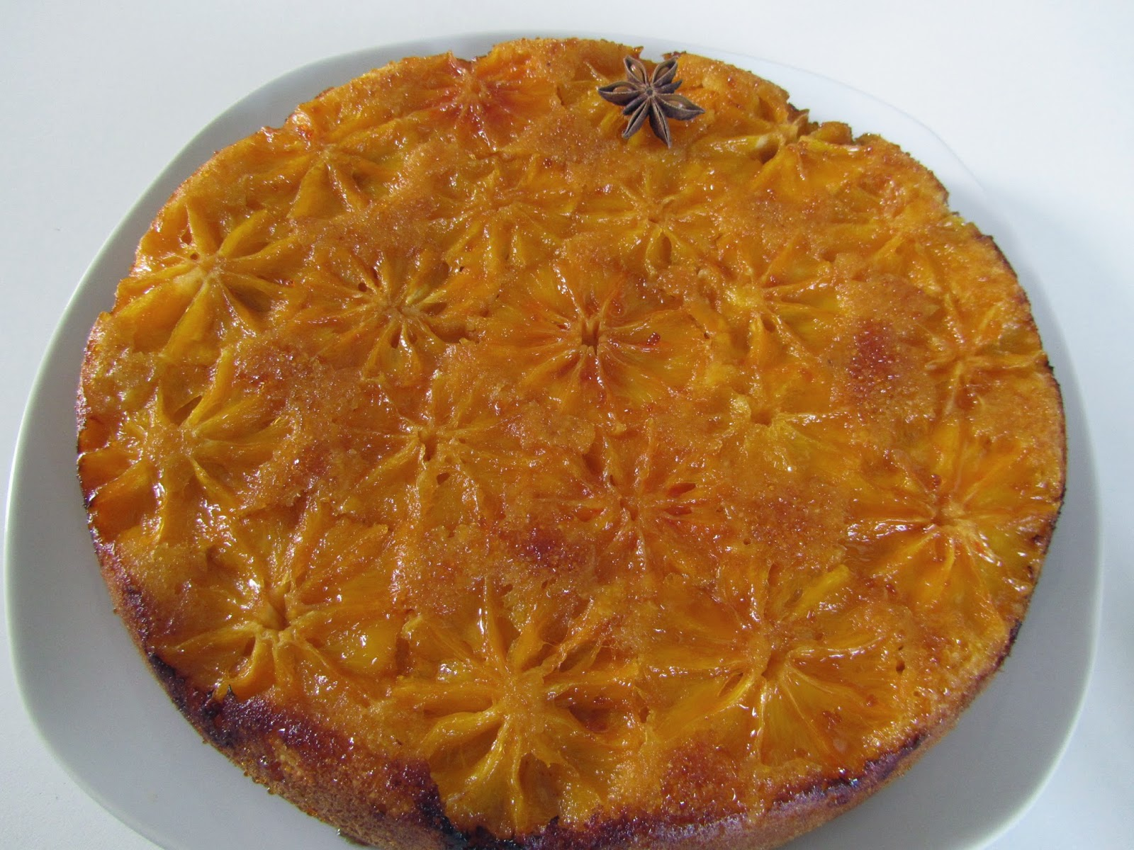 Gateau aux oranges de christophe michalak