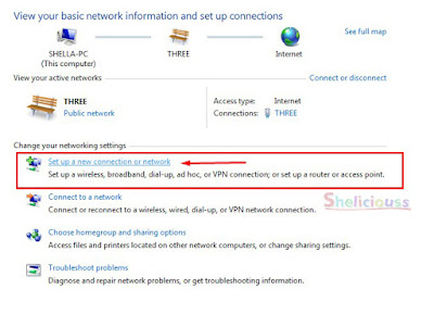 Membuat Dial Up Connection Menggunakan Windows 7