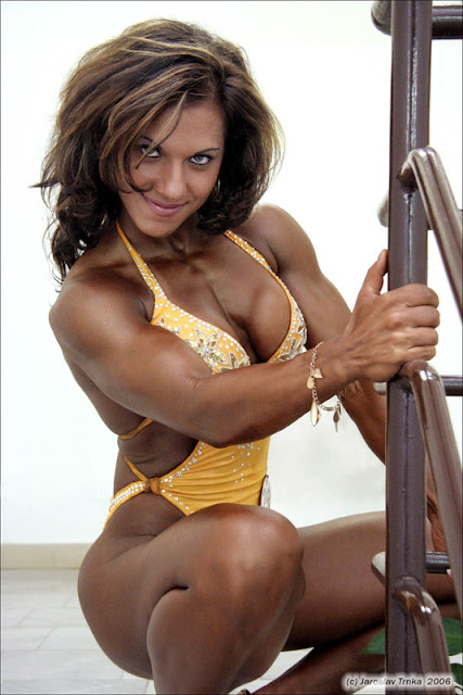 Nikol Keselova, female fitness competitors, fitness women