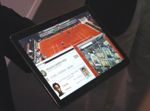 Prime immagini di un tablet 4K Samsung