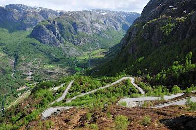 Estrada de Lysebotn - Noruega
