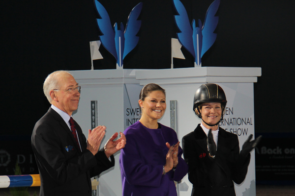 Princess Victoria attends Sweden International Horse Show 2014