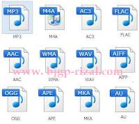 Macam-macam Format Audio