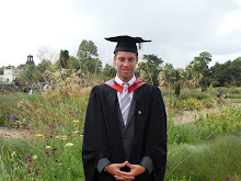 Scott on his 1st graduation day 2009