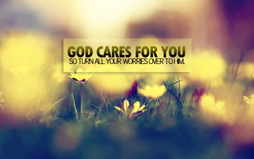 God Needs us God Cares About Your Needs