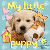 cover picture of My Little Puppy, a children's illustrated ebook about puppies