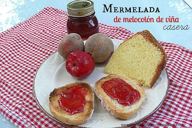 receta de mermelada de melocotón con thermomix