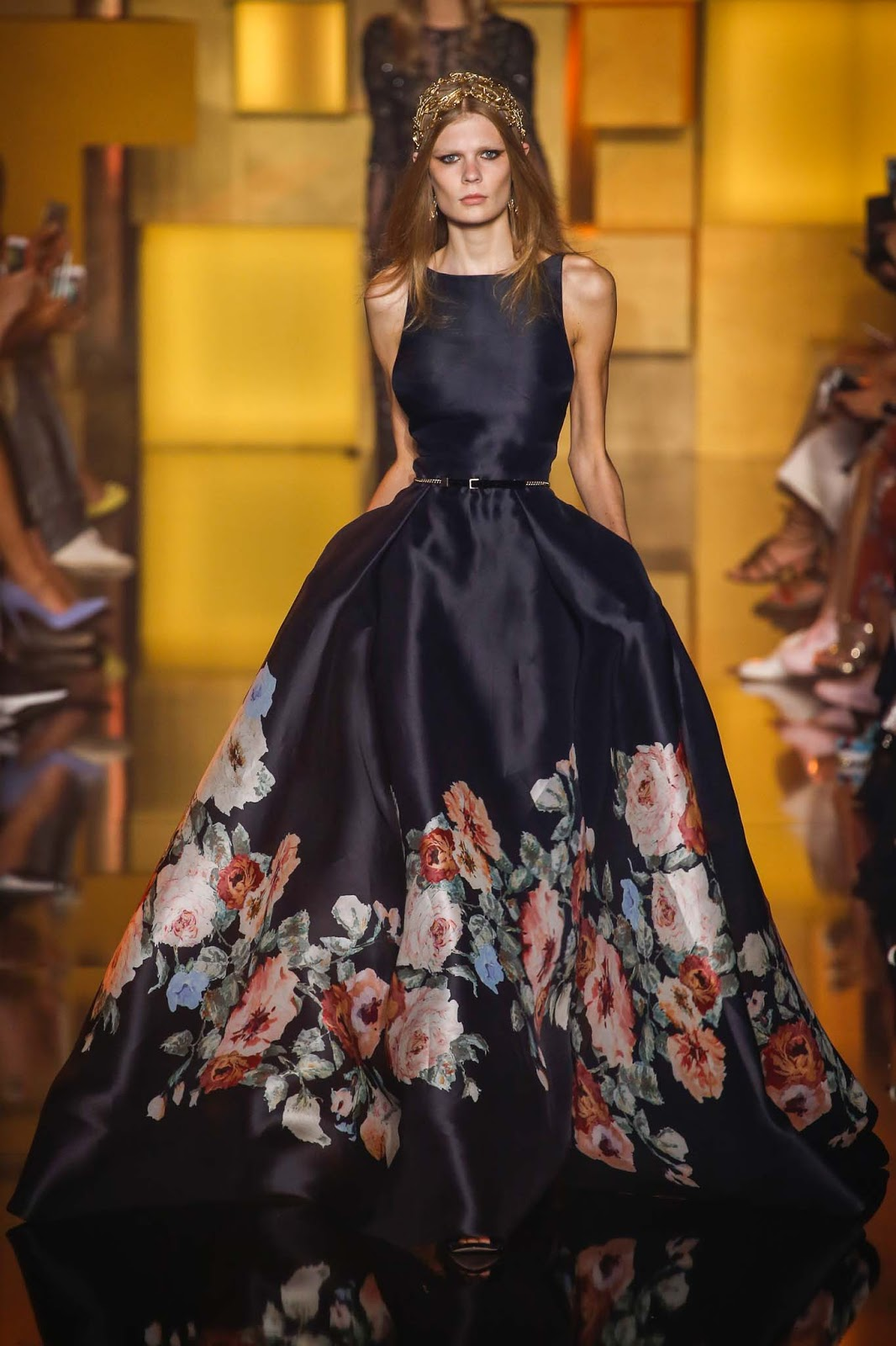 RUNWAY REPORT.....Elie Saab haute Couture Fall/Winter 2015 | Nick ...