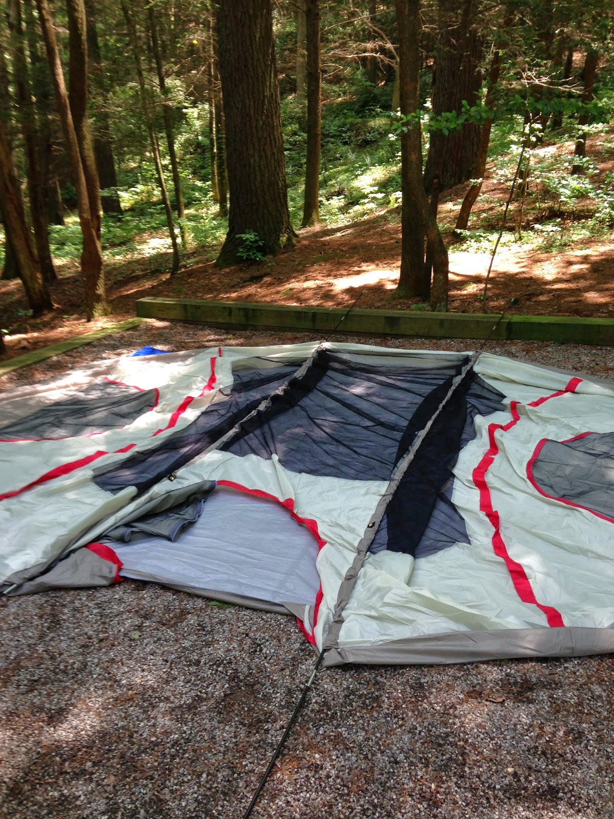 Lastly Iu0027d like to talk about durability and style. Iu0027ll also include some of the features that we particularly liked and Iu0027ll also address the issues ... & Wenzel Blue Ridge Tent - Review