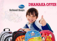 Buy Disney School Bags 50% off to 72% off from Rs. 274 : Buytoearn