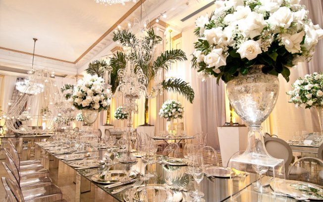 decoracao branca casamento:Detalhes de Casamento: A elegância da decoração branca!!