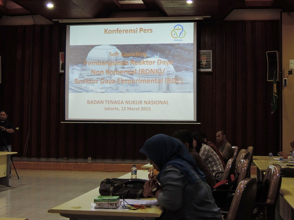 BATAN Gelar Soft Launching Pembangunan Reaktor Daya Eksperimental