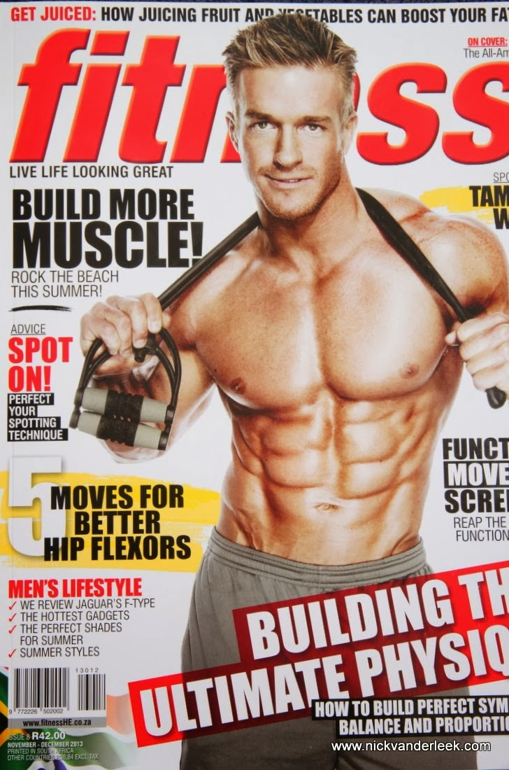 Interview with Tyler Hamilton - published in November/December Fitness Magazine