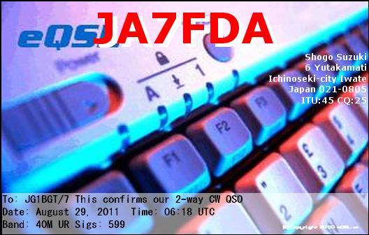 JA7FDA