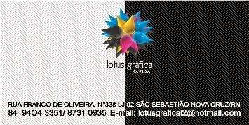 LOTUS GRÁFICA - NOVA CRUZ-RN
