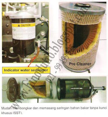 saringan bahan bakar hino dutro