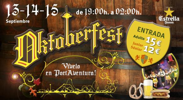 Oktoberfest en PortAventura