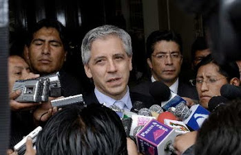horas más tarde se informó que sí, García Linera llegó a Santa Cruz