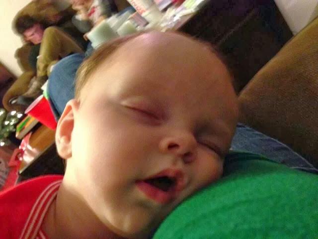 sweet peaceful baby sleeping