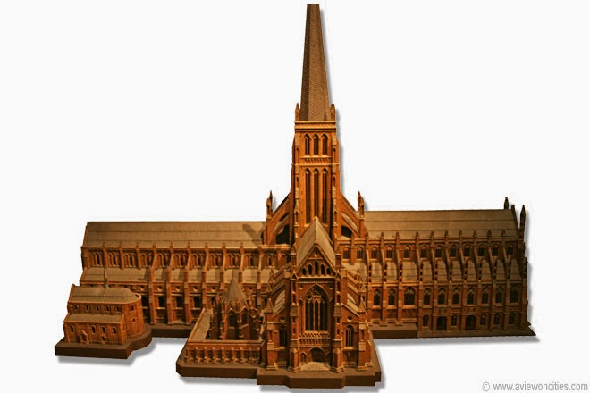 St.-Paul's-Cathedral-Scale-model