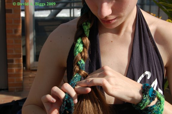 free knitting pattern for hairband and cuffs