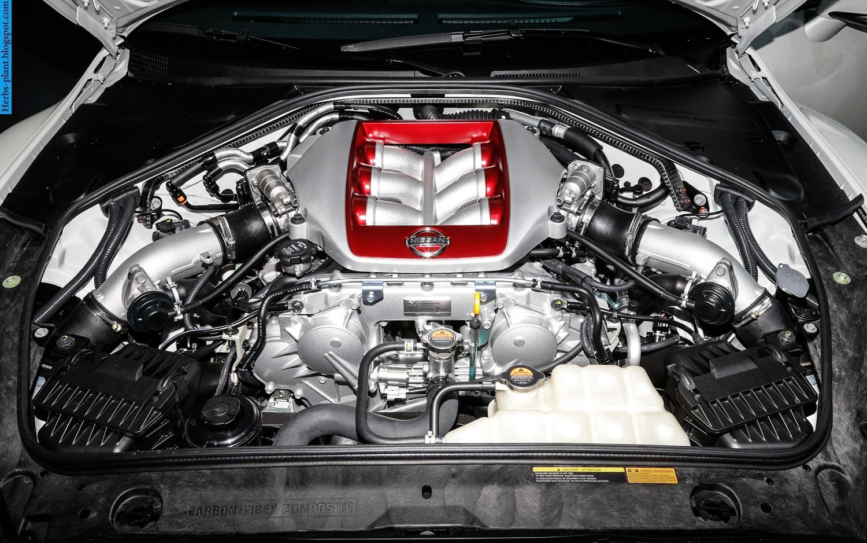 Nissan GT-R car 2013 engine - صور محرك سيارة نيسان جي تي ار 2013