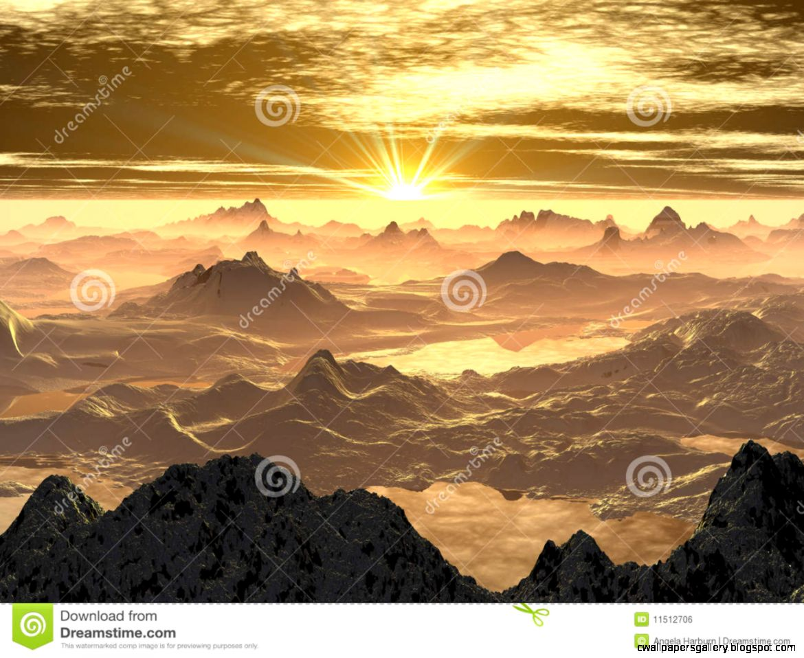 Snowy Mountain Sunrise Royalty Free Stock Image   Image 11512706