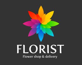 logotipos de flores