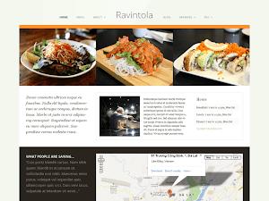Ücretsiz WordPress Restaurant Teması