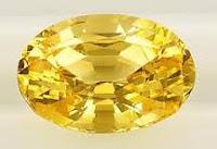 Batu Akik Safir Kuning