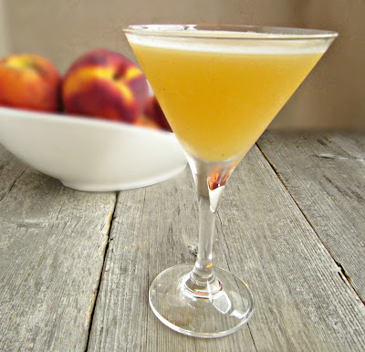 Peachy Martini