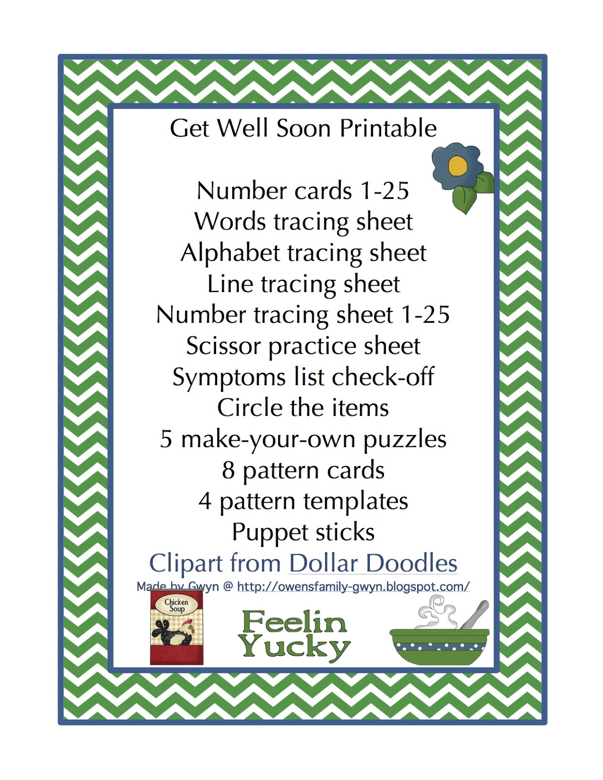 Printable get well greeting cards description