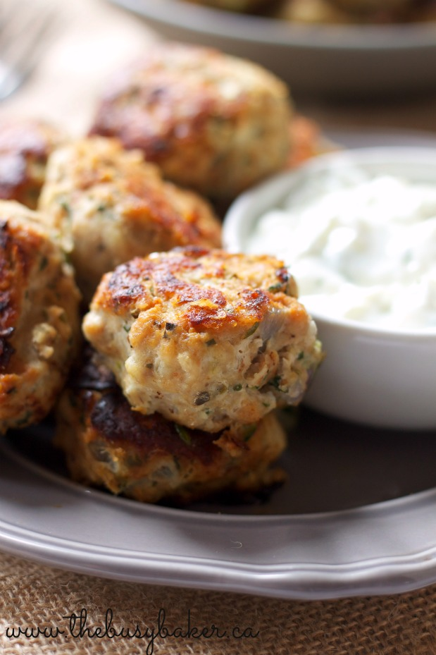 Skinny greek turkey meatballs the busy baker these skinny greek turkey meatballs are the perfect healthy meal idea packed with veggies and forumfinder Images