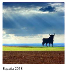 Webalbum Spanje 2018