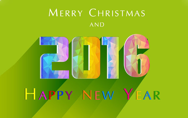 Merry Christmas And 2016 Happy New Year HD Images