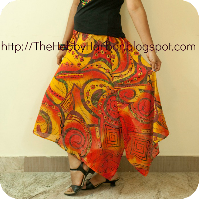 Skirt from Feminine wardrobe book