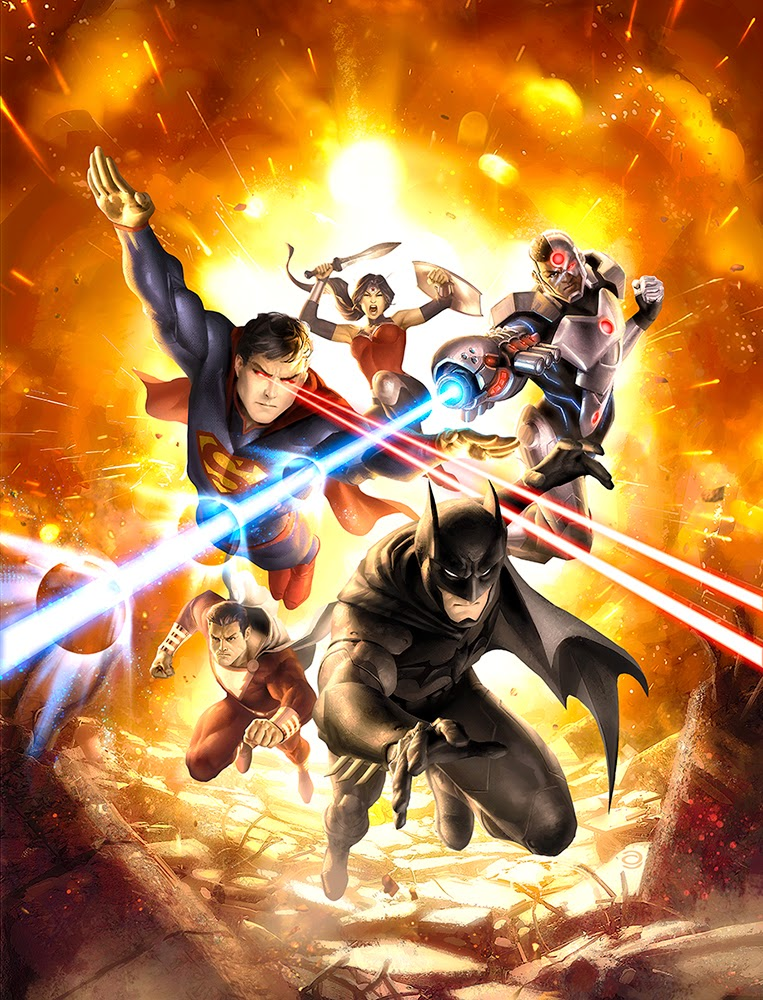 justice league war,cover art, alex garner
