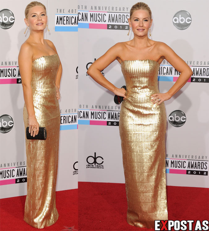 Elisha Cuthbert: 40th American Music Awards no Nokia Theatre em Los Angeles - 18 de Novembro de 2012
