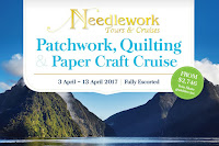 Proud 2017 Tutor for Needlework Tours & Cruises