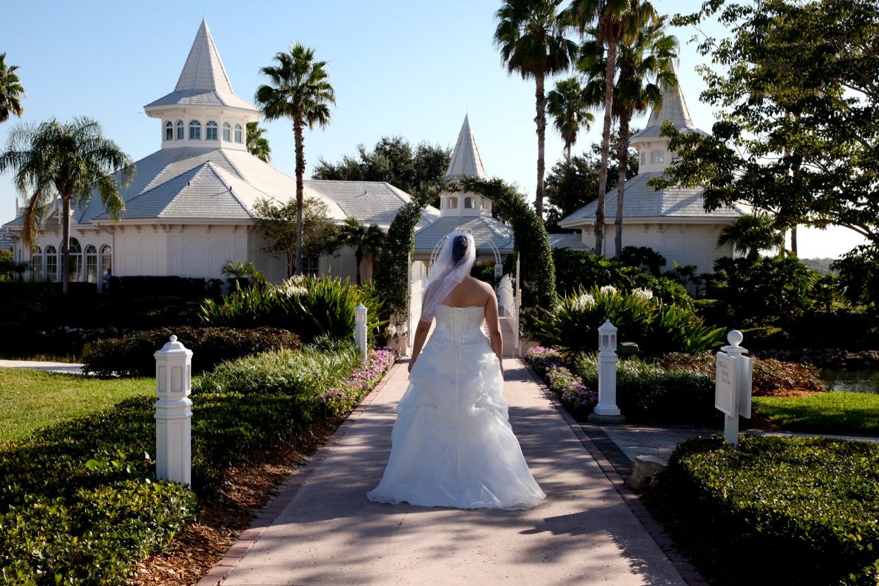 Disneys Wedding Pavilion Ceremony Leticia Rodrigo