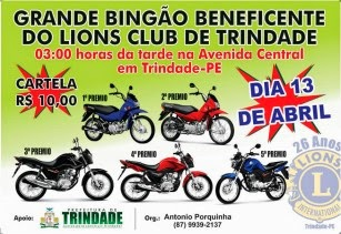 Bingão do Linos Club