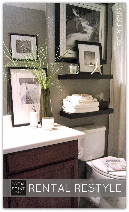 SMALL BATHROOM MAKEOVER: