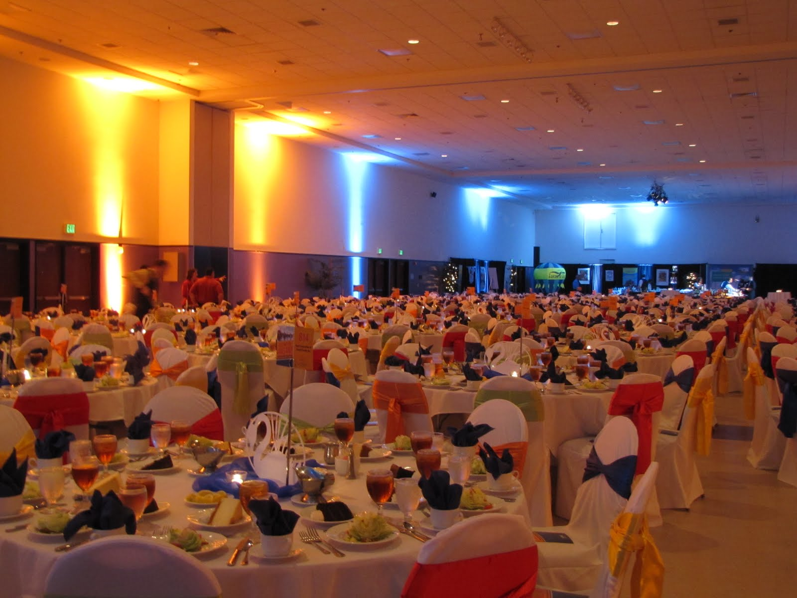 Party people event decorating company lakeland chamber for Annual dinner decoration
