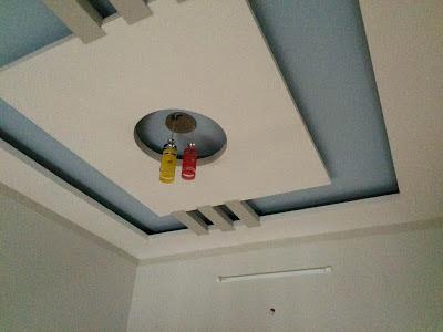 Trần nhà có hệ thống đèn LEB
